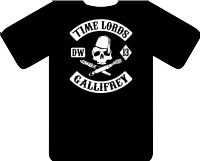 TIME LORDS TEE - INSPIRED BY DR.WHO MATT SMITH DAVID TENNANT SONS OF ANARCHY